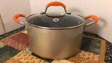MASTERCHEF TV SERIES cookware stock casserole pan glass lid 6 qt free shipping
