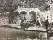 Vintage Postcard - Dorset #A29 - RP Upway Nr Weymouth - Wishing Well Edwardians