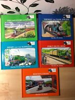 Thomas The Tank Engine Book Club Bundle of 5 Books by The Rev. W. Audry