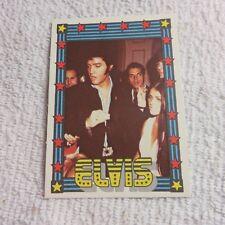 1978 Monty Gum - ELVIS PRESLEY - Club Card From Holland - (Blank Back) - Card 17
