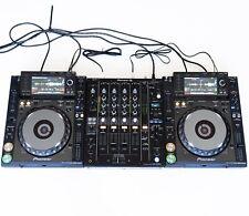 DJ-set: 2x Pioneer CDJ 2000 NXS Nexus + 1x Pioneer DJM 750 mk2 + Cavo