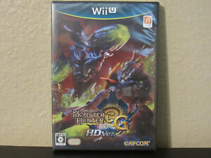 Monster Hunter 3G HD Ver. (Nintendo Wii U, 2012) - Japanese Version (BRAND NEW)