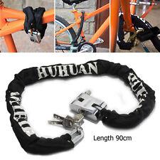Heavy Duty Motorbike Motorcycle Bike Motor Bicycle Scooter Chain Pad Lock Keys