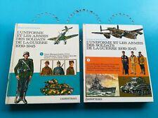 lot L'uniforme et les armes des soldats de la guerre 1939-45 Vol 1 et 2 Funcken