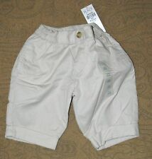 CHILDREN'S PLACE Boys Cuffed Pants  Tan  0-3 Months  NWT