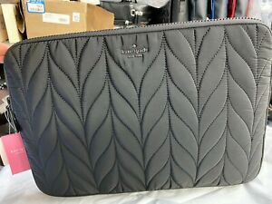 """Kate Spade Ellie Quilt Slide In Universal up to a 15"""" Laptop Sleeve Case $90"""