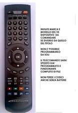 TELECOMANDO SOSTITUTIVO PER TV TOSHIBA MODELLO 32W2333 32W2333D