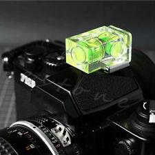 Bubble Spirit Level Double 2 Axis Camera D-SLR Hot shoe for Canon Nikon Olympus