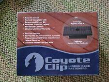 Coyote Clip Hidden Deck Fasteners