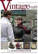 Vintagexplorer Magazine - Issue 27- Speed Queens, M&S, Typewriters,Smiths Clocks