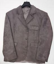 40L Ex Hire Scottish Made Grey Moleskin Suede Effect Day Kilt Jacket & Vest