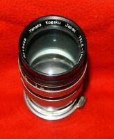 Tanaka Kogaku 13.5cm F/3.5 Tele-Tanar C.Lens & Case