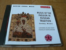 Russian Choral Music - Music of the Passion in Russian Tradition - Melodiya 1995
