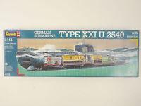 Revell 5078 Deutsches U-Boot Typ XXI U 2540 1/144 NEU! OVP 1606-11-19