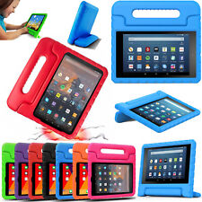 For Amazon Fire 7 HD 8 Tablet ShockProof EVA Foam Handle Stand Kids Cover Case