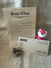 Personalised Christmas Letter From Santa, personalised envelope A4 kraft paper