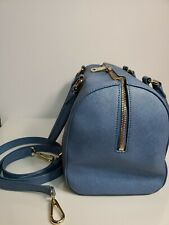 "DKNY  Light Blue Woman Purse Crossbody/double handle strap~12x7.5""×5"""