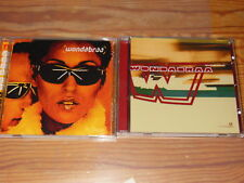 WONDABRAA - DECK & WOULD YOU KISS ME / 2 VERSCHIEDENE ALBUM-CD'S MINT-