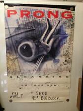 Prong Cleansing Tour Poster w Shed 454 Big Block '94 24x36 punk rock kbd metal