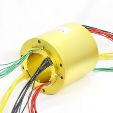 MT100185 SLIP RINGS WITH BORE SIZE 100mm,18 wires/10A each,MOFLON slip ring