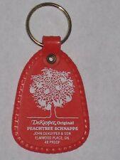 Vintage DeKuyper Original Peachtree Schnapps Keychain