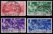1930 ITALY #242-245 FERRUCCI ISSUES - USED  - VF - CV$6.75 (ESP#1073)