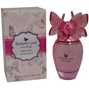Butterfly Love Pink Wings Womens Perfume Laurelle 100ml Ladies Eau De Parfum