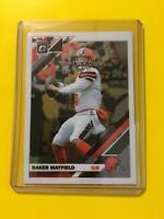 🔥🔥2019 DONRUSS OPTIC BAKER MAYFIELD Base #24 Cleveland Browns