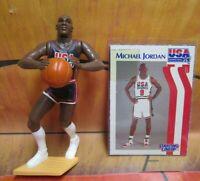 1992  MICHAEL JORDAN Starting Lineup Basketball - DREAM TEAM USA Figure & Card