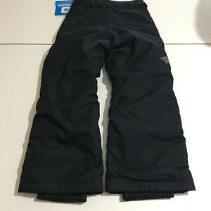 Columbia Omni Tech Snow Ski Pants Black Arctic Trip Size Youth XS NWT
