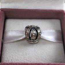 """Pandora Crown Silver Charm, Pandora ALE""""No Box"""""""
