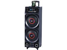 QFX PBX-3011BT Portable Battery Powered PA Speaker +Disco Light +Bluetooth