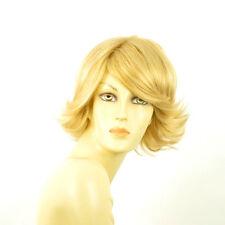 Perruque femme courte blond clair doré EDWIGE LG26