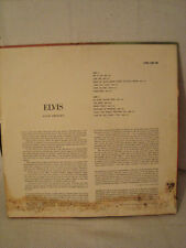 OLD RARE ELVIS PRESLEY SELF TITLED LPM 1382 SILVER RCA VICTOR LABEL