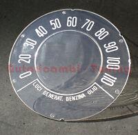 VETRINO PER CONTACHILOMETRI CONTAKM FIAT 500 D  SCALA 110 KM/H