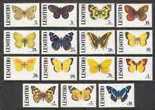 Lesotho 1991 Butterflies/Insects 15v set (n21926)
