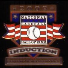 2009 BASEBALL HALL OF FAME HOF PRESS PIN HENDERSON RICE