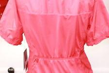 Sunice Sport Wind Resistant Golf Jacket Short Sleeved Breathable Bright Red Med