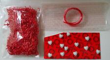 VALENTINES DAY GIFT BASKET KIT - XOXO HEARTS - LARGE