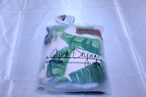Microfiber Hair Towel Wrap Hair Turban for Drying Wet Hair Leaf Design