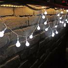 Cool White Lights 100LED Berry String Ball Lights Garden Festoon Xmas Party Tree