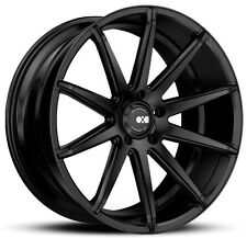22X9 XO Sydney X252 5X112 +32 Matte Black  Wheels (Set of 4)