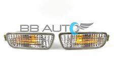01-04 TOYOTA TACOMA LOWER FRONT BUMPER PARK SIGNAL LIGHTS SET w/ BULBS NEW