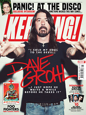 DAVE GROHL BRITISH KERRANG! MAGAZINE UK Cover June 2018 - Foo Fighters