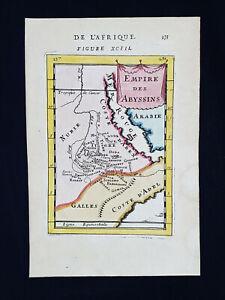 1683 A.M. MALLET: Africa, Abissinia, Ethiopia, Somalia, Red Sea, Egypt, Eritrea