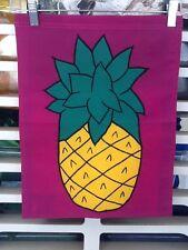 New listing Pineapple Welcome Handmade Garden Flag