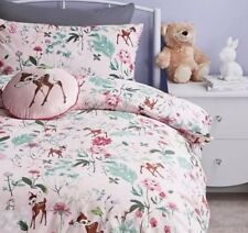 Children Disney Bambi Duvet Cover Set DOUBLE Quilt Cover bedding pink blue
