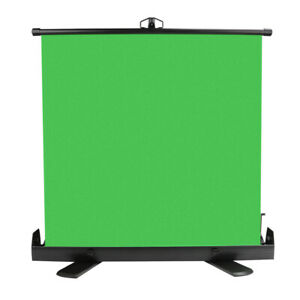 Wrinkle-Resistant Green Screen Backdrop Collapsible Chroma Key Panel Background