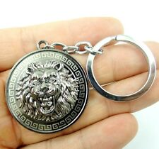 Creative Key Chain Ring Keyring alloy Keychain Gift Tool lion head Pendant D10