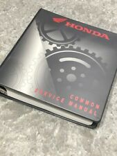 Honda Common Service Manual �Atv Motorcycle Scooter Repair - Issue date 3/2004